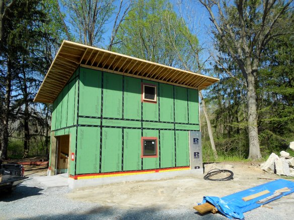 passive house, airtight building envelope, air barrier, foundation