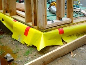 air barrier, vapor barrier, passive house, building envelope,